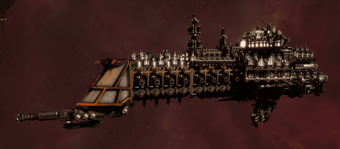 Imperial Navy Cruiser - Dominator (Gothic Sub-Faction)