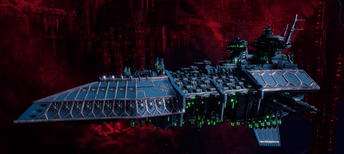 Chaos Grand Cruiser - Repulsive (Alpha Legion Sub-Faction)