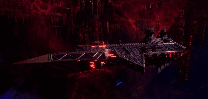 Chaos Cruiser - Devastation (Black Legion Sub-Faction)