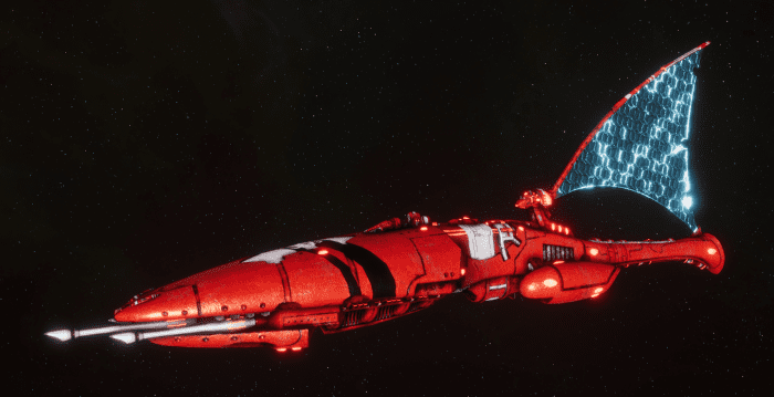 Asuryani Cruiser - Firestorm Dragonship [Saim-Hann - Eldar Sub-Faction]
