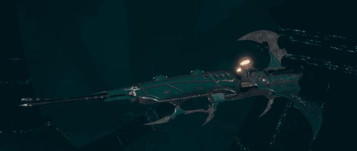 Drukhari Raider Frigate - Venom Blade - [Broken Sigil Sub-Faction]