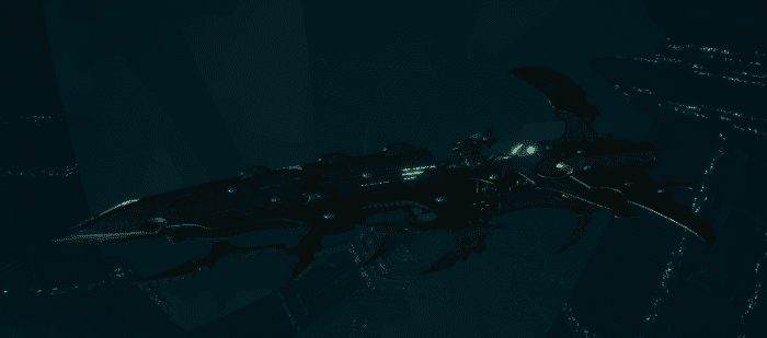 Drukhari Raider Cruiser - Bleak Soul - [Black Heart Sub-Faction]