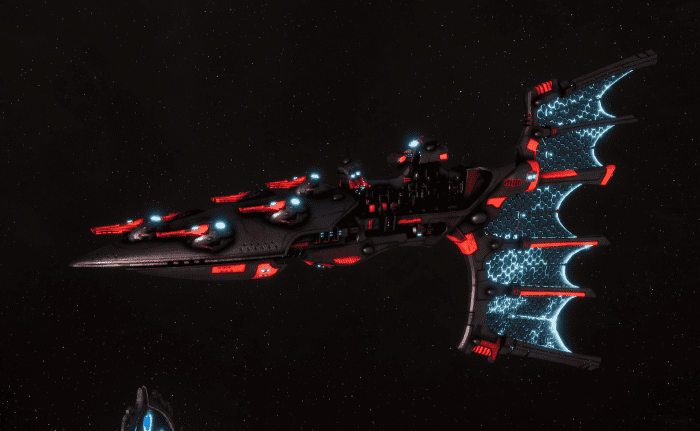 Aeldari Corsair Light Cruiser - Solaris [Void Dragon - Sub-Faction]