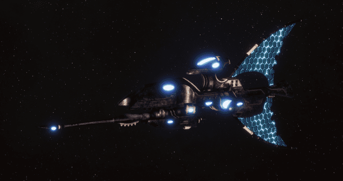Craftworld Asuryani Destroyer - Shadowhunter [Ulthwe - Eldar Sub-Faction]