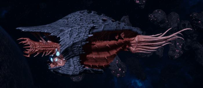 "Tyranid Cruiser - ""Bio Infestation Razorfiend"" - [Behemoth Sub-Faction]"