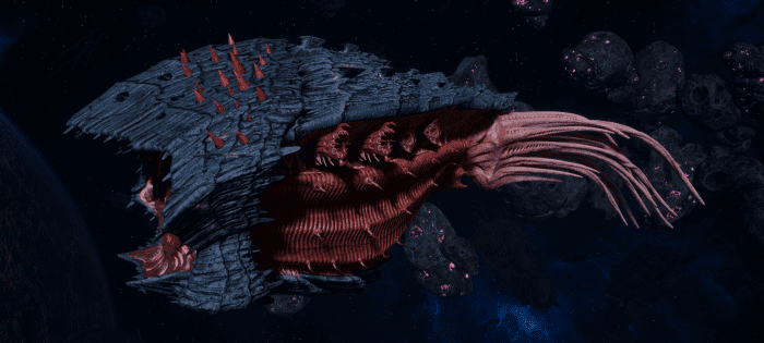 "Tyranid Cruiser - ""Bio Acid Projectile Razorfiend"" - [Behemoth Sub-Faction]"