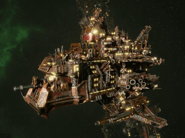 "Ork Cruiser - ""Terror"" - [Ork Pirates Sub-Faction]"