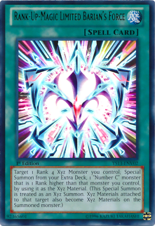 Rank-Up-Magic Limited Barian's Force