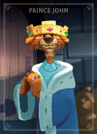 Prince John in Villainous