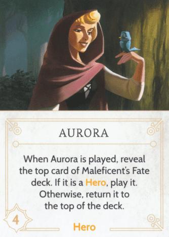 Aurora fate card