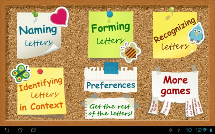 Kids ABC Letters Lite by Intellijoy
