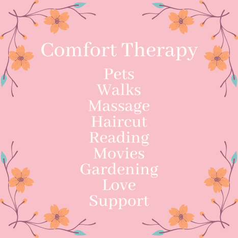 Do what brings you comfort.