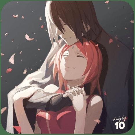 Sasuke Hugging Sakura
