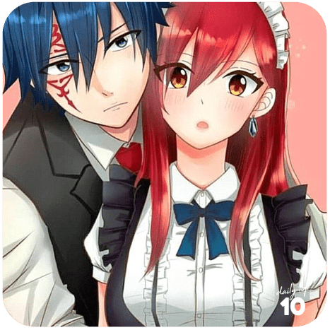 Jellal and Erza sweet moment
