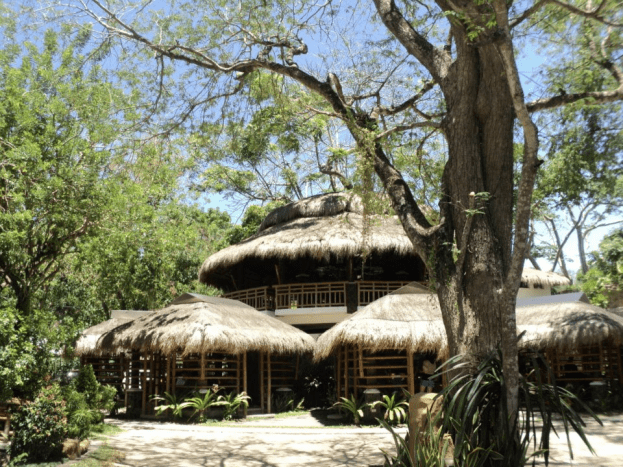 The Native Dining Hall and a Few Cottages At Acuaverde