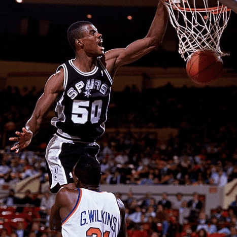 David Robinson's monstrous dunk.