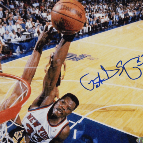Patrick Ewing one-handed dunk.