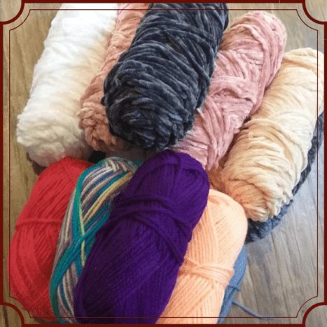 You can use any kind of yarn.