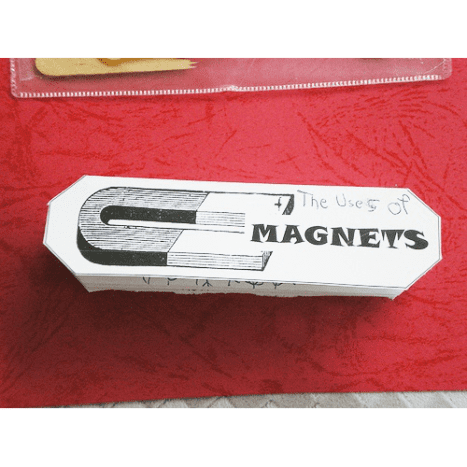 magnets accordion book