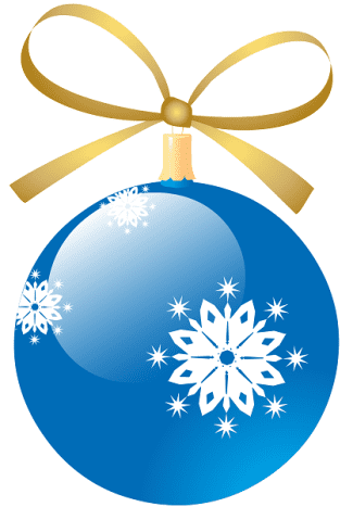 Turquoise snowflake Christmas ornament.
