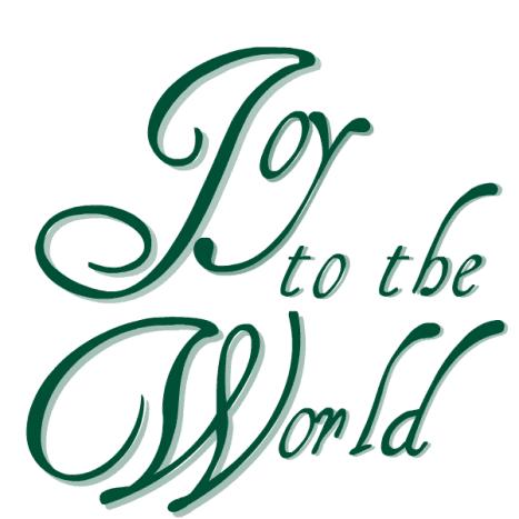 """Joy to the World."""