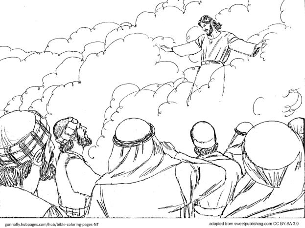 Acts 1 Jesus' ascension