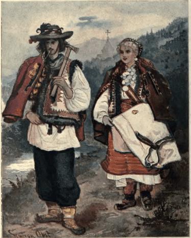 Hutsuls of 1902.