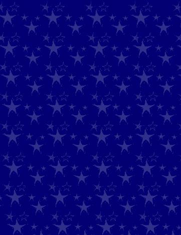 Light blue stars Christmas scrapbook paper -- blue background