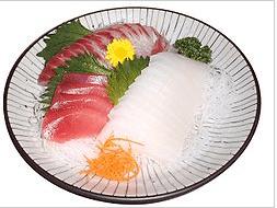 Sashimi Dinner Set (http://en.wikipedia.org/wiki/Sashimi)