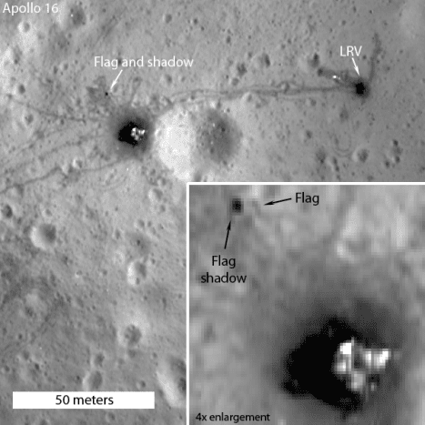 This is probably from March 2012 when the LRO made its closest pass.