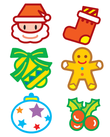 Just print, cut and decorate with beads to glitter to make your own Christmas ornaments!