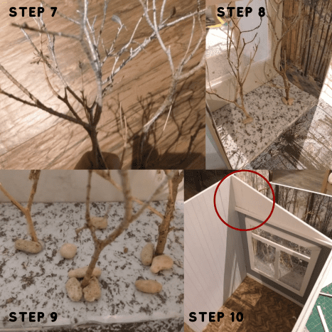 Steps 7 through 10.