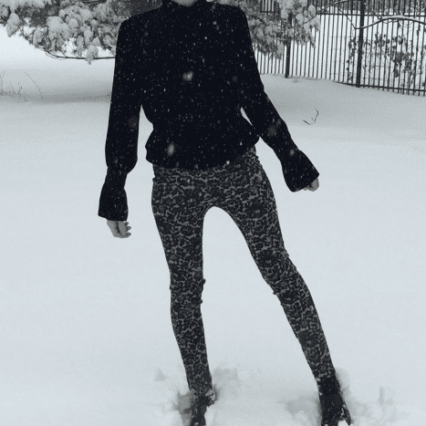 American-made pants cozy enough for a snowstorm!