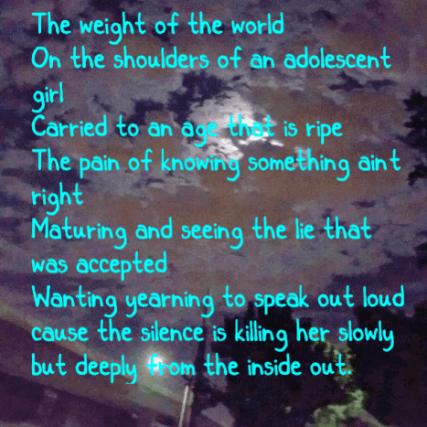The Weight of the World is a heavy burdeon....