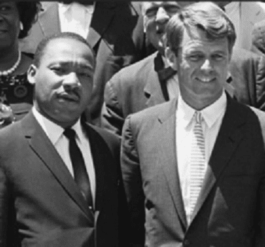 The dreamers who carried the hopes and aspirations for so many oppressed and disenfranchised, Robert F. Kennedy and Martin Luther King,  Jr., were both gunned down in 1968.