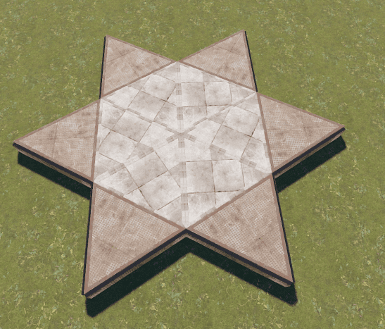 The stone triangles would be removed to place the furnace. This was done on a build server so be sure to use twig for yours!