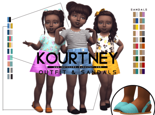 Sims 4 toddlers custom content by OynxSims