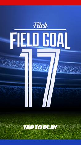 "Loading screen for ""Flick Field Goal."""