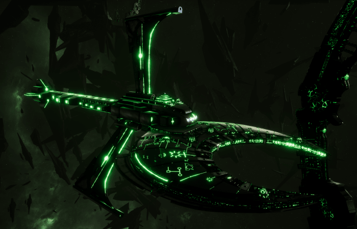 Necron Cruiser - Scythe Harvester (Charnovokh Sub-Faction)