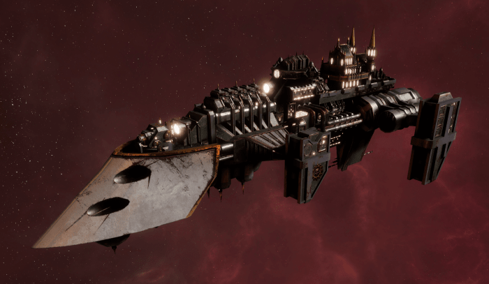 Imperial Navy Destroyer - Cobra (Gothic Sub-Faction)
