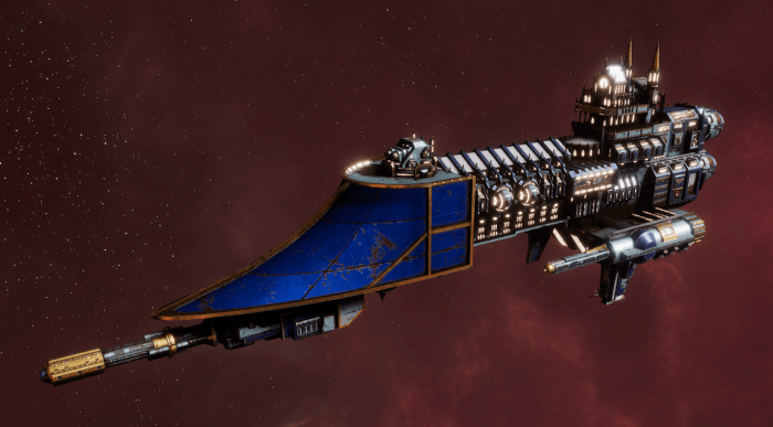 Imperial Navy Frigate - Firestorm (Bastion Sub-Faction)