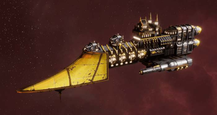Imperial Navy Frigate - Sword (Armageddon Sub-Faction)