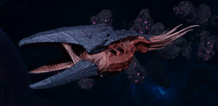 "Tyranid Battle Cruiser - ""Corrosive Clutch Devourer"" - [Behemoth Sub-Faction]"