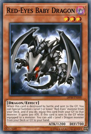 Red-Eyes Baby Dragon