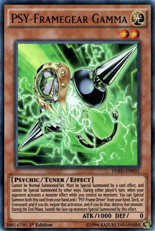 PSY-Framegear Gamma