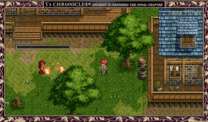 Adol takes time out of his day for the important things in life. Like setting townsfolk ablaze!