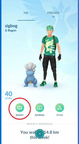 Buddy System Screenshot