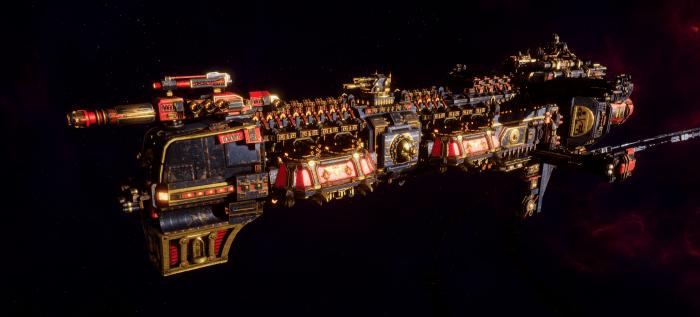 Adeptus Mechanicus Cruiser - Gothic (Stygies VIII Faction)