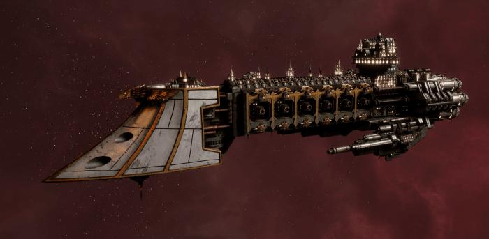 Imperial Navy Light Cruiser - Dauntless MK.II (Gothic Sub-Faction)
