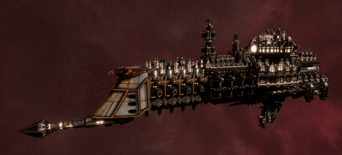 Imperial Navy Cruiser - Dictator (Gothic Sub-Faction)